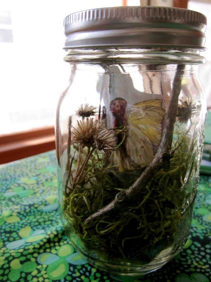 Fairy And Leprechaun Jars Fairy Jars Magic Treehouse