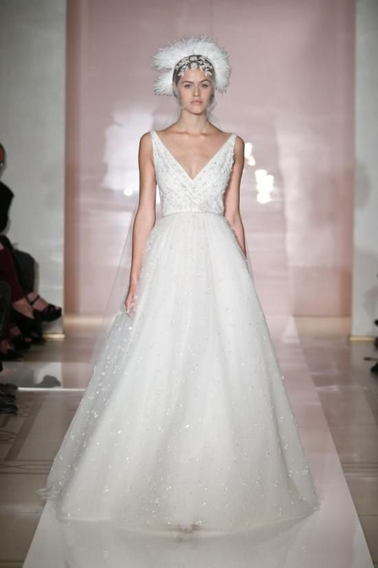 Lovely Reem Acra Dress Kleinfeld Summer Sample Sale