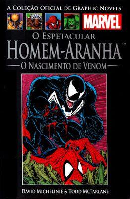 O Espetacular Homem-Aranha: O Nascimento de Venom – David Michelinie, Todd McFarlane | Revistas e Jornais