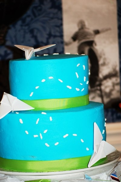 Sweet Baby {Mason} James: Paper Airplane Birthday Party