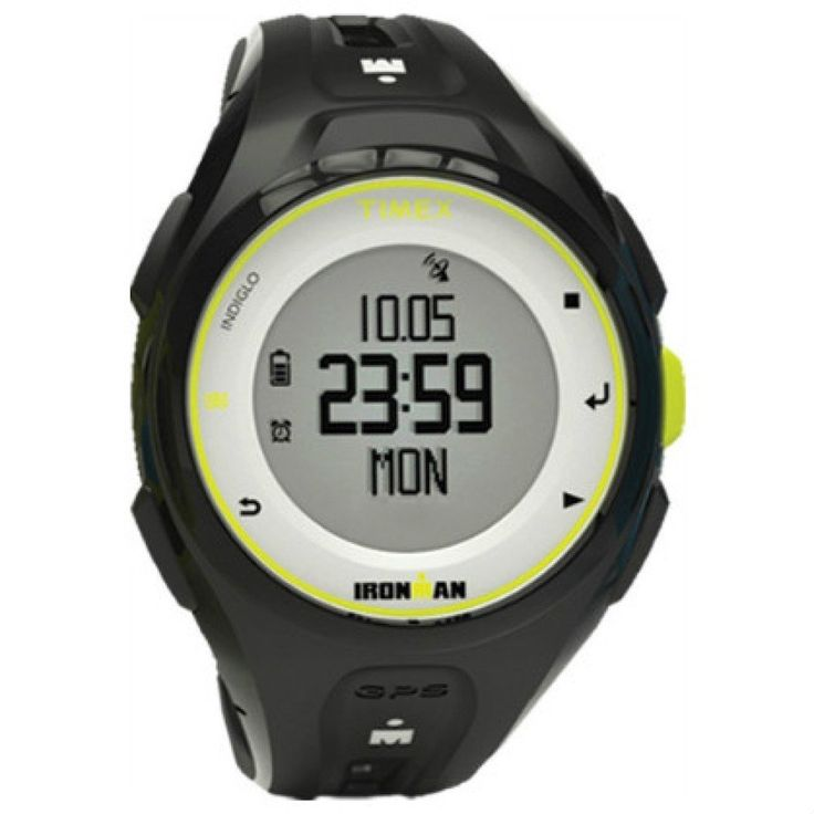 New Timex Run x20 GPS Ironman Watch TW5K87300 Black/Lime Green. Ironman Run x20 GPS Watch - CharcoalFor many of us, GPS technology has made running more enjoyable-freeing us from the treadmills and tracks, providing motivation when we need it and giving an undeniable sense of accomplishment when it's all done. But it has also come with the cost of wearing a bulky device that leaves tan lines over half of our forearms. What if you could have all of the advantages of GPS, but with the same...