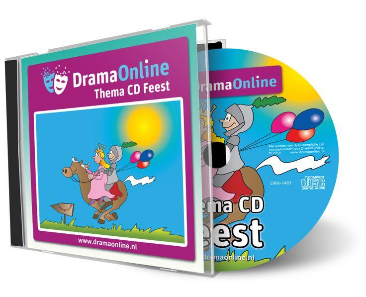 Thema CD Feest is een CD met 20 theatrale feestnummers uit verschillende tijden en culturen. Een swingende polka, zonnige reggae en vrolijke slapstick. Het laatste nummer is een compilatie van fragmenten van 11 nummers van deze CD om gemakkelijk te kunnen wisselen tussen verschillende sferen. De feestmuziek is de perfecte ondersteuning in een dramales of voorstelling. Opzwepende klanken om jouw dramales tot een feestje te maken!