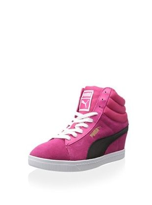 39% OFF PUMA Women's Wedge Lace-Up (Beetroot Purple)