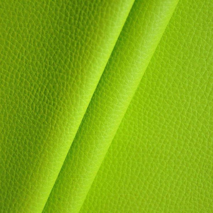 Kunstleder Meterware 1lfm 1,4m breit Polsterstoff Bezugsstoff Lederopt. Hellgrün