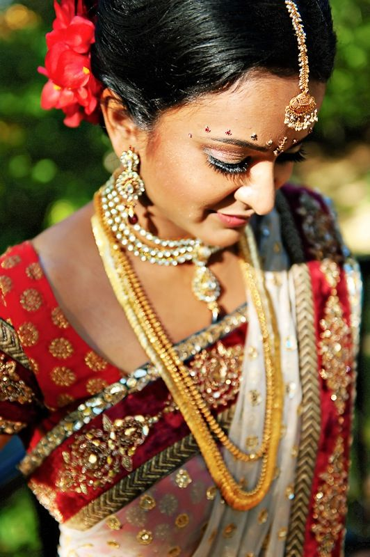 Modern day South Indian bride