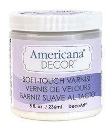 Tutorial de Americana Decor Chalky Finish, pintura efecto tiza.