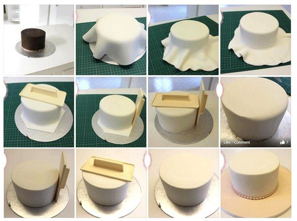 How Do You Cover A Cake Board With Fondant