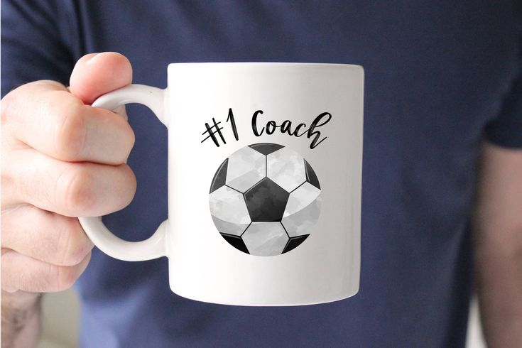 Soccer Coach Mug, Number 1 Coach, Soccer Coach Gift, Coach Thank you Gift From Team, Soccer Mug, Coffee, Tea, Cup, Gift for Coach, Present by SweetMintHandmade on Etsy https://www.etsy.com/listing/578256195/soccer-coach-mug-number-1-coach-soccer
