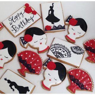 Resultado de imagen para flamenco cookies