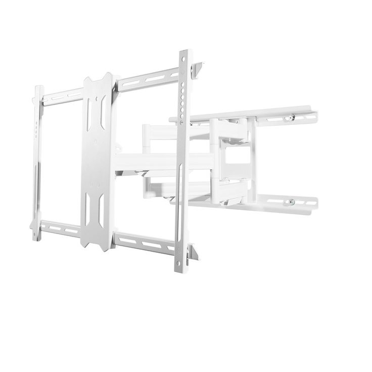 Full Motion Mount for 37-inch to 75-inch TVs - White