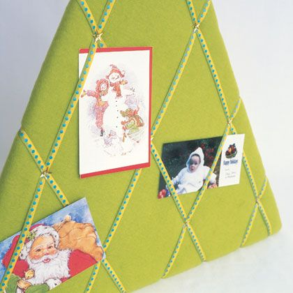 Christmas Card Holder Christmas Ideas Pinterest