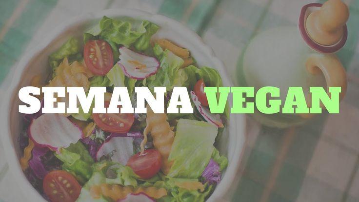 Semana Vegan aqui no canal