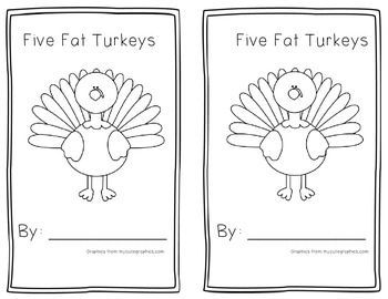 #coloring #five #little #pages #turkeys #2020 Check more