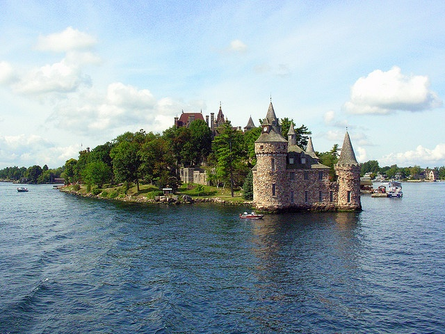 Thousand Islands...Ontario Canada great castle
