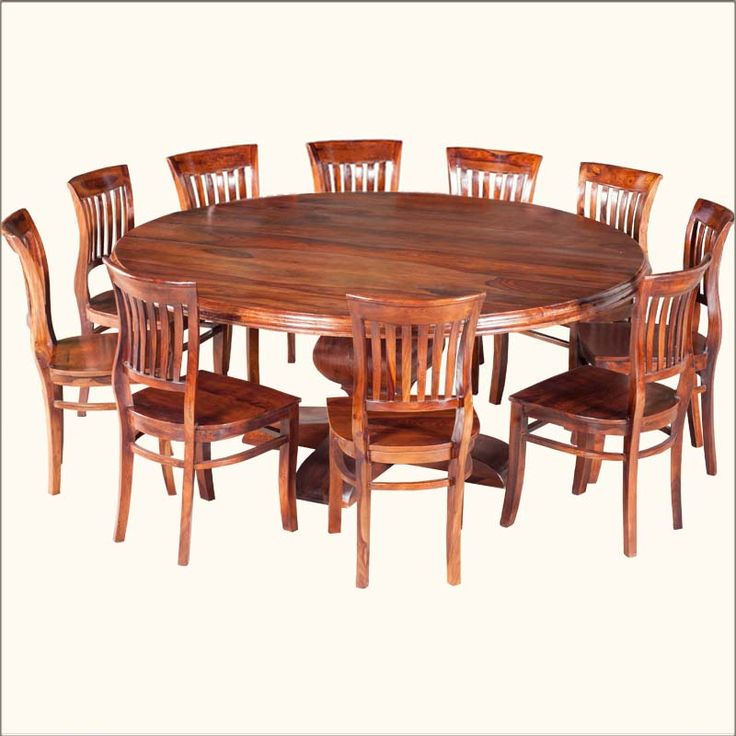 Best 25+ Large Round Dining Table Ideas On Pinterest