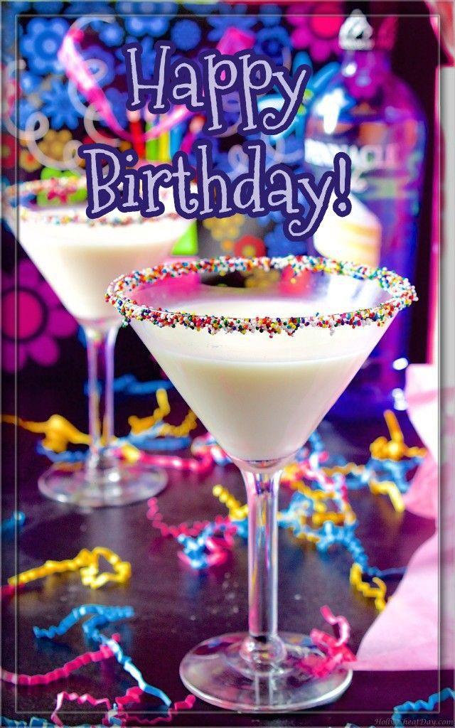 Happy Birthday Martini Birthday Cake Martini Birthday Cake