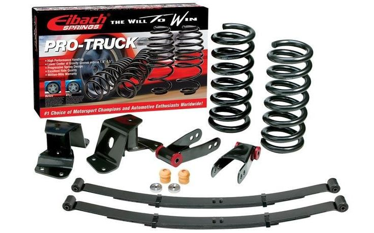 Eibach Pro-Kit Lowering Springs for 2007-2009 Chevrolet Tahoe/ 2007-2013 Chevrolet Suburban 1500 Avalanche GMC Yukon Cadillac Escalade (Front Only)