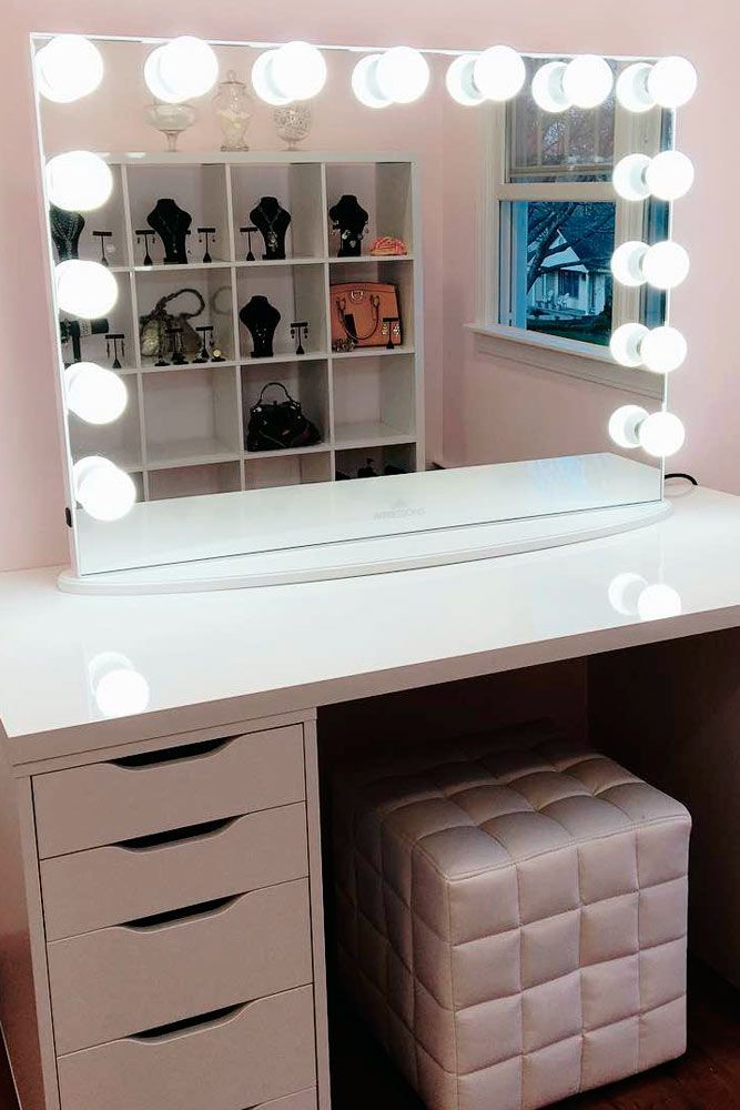 Perfect 21 Makeup Vanity Table Designs