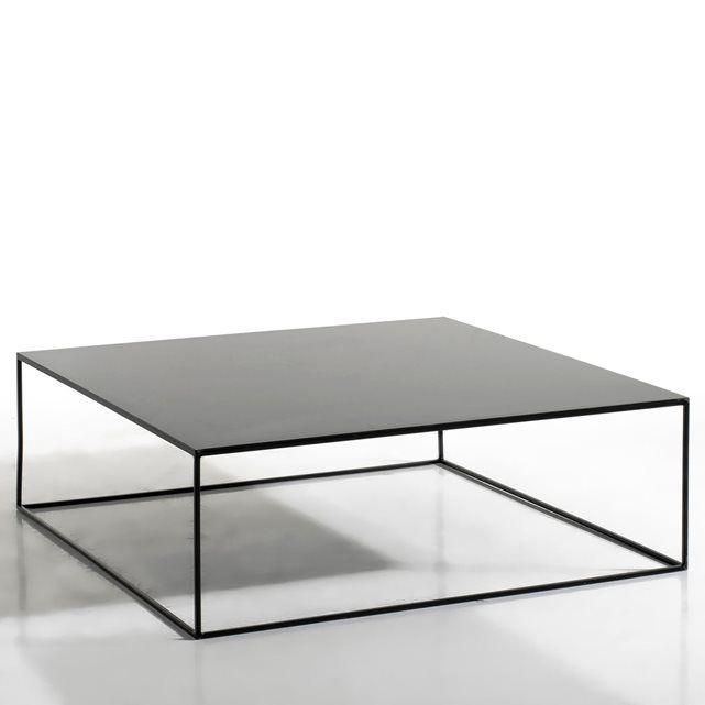 100*100-224/280€-Table basse métal carrée, Romy AM.PM