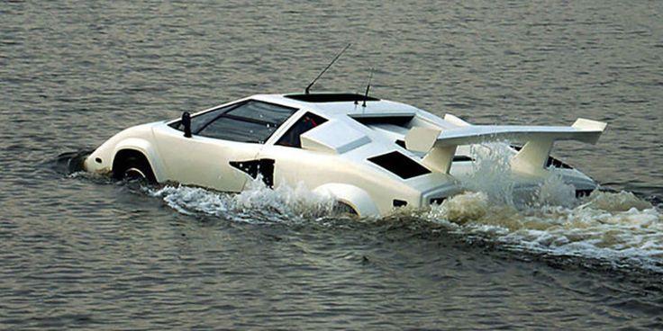 La Amphiborghini  une Lamborghini Countach amphibie à vendre sur eBay  2Tout2Rien