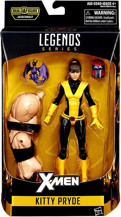 Kitty Pryde X-Men Marvel Legends 6-Inch Action Figure Build-a-Figure Juggernaut Series Pre-Order