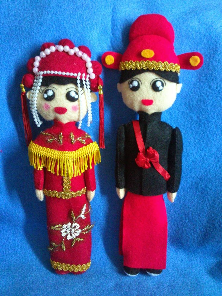 Couple Traditional Chinese Wedding