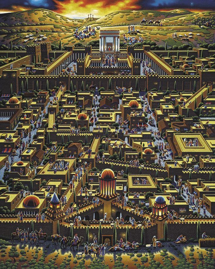 Jerusalem House Puzzle: 1000+ Images About Eric Dowdle Folk Art On Pinterest