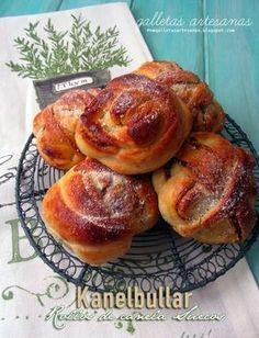 Kanelbullar, bollos de canela suecos, receta.