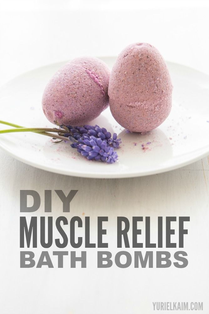Looking for a way to relieve sore muscles after a long day at work or an extra-hard workout? Give these homemade bath bombs a try.It's pretty normal to have a bit of stiffness after a new or intense bout of activity, but that doesn't mean you have to be stuck with soreness ...