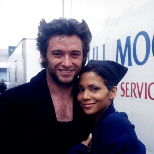 X-men, Hugh Jackman and Halle Berry