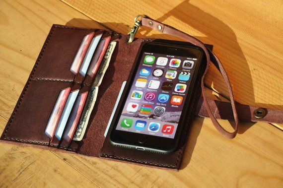 51fba051c0e89 Leather iPhone xs max Wallet Case Wristlet iPhone xs Case iPhone xr ...