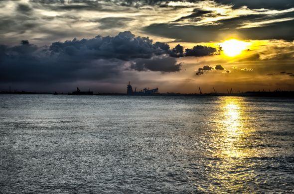 Keppel Bay Board Walk - Sunset #Sunset #KeppelBayBoardWalk #KeppelBay #Singapore