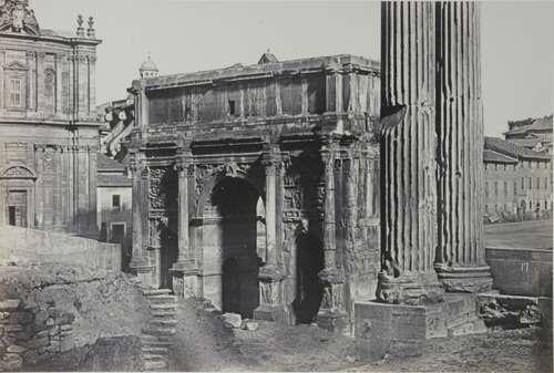 Rome, Arch of Settimius Severus 1860 (ca)