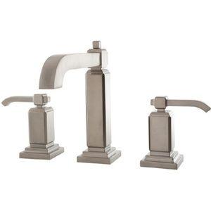 Pfister PLG49WE0K Carnegie 8'' Widespread Bathroom Faucet - Brushed Nickel