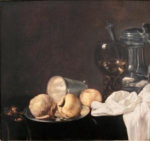 Date unknown - Aelst, van der Evert - Nature-morte À La Coupe De Pommes