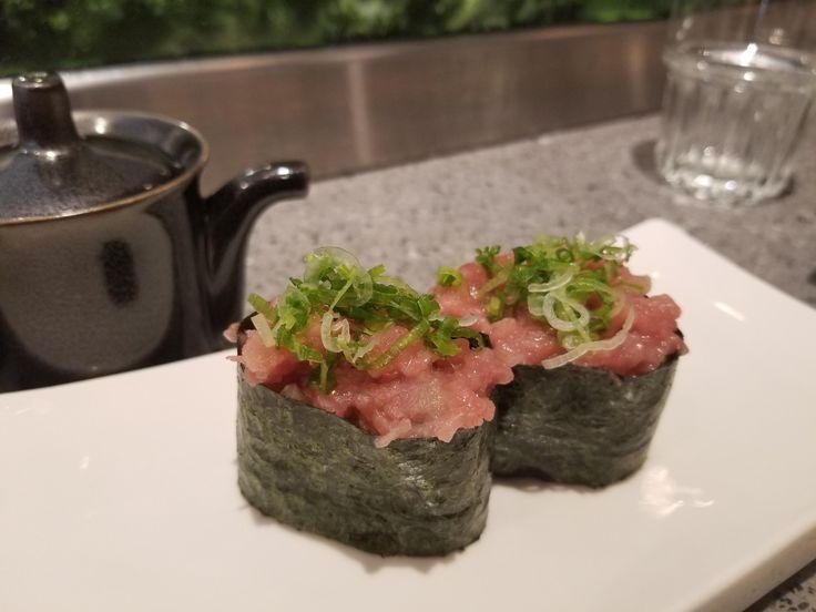 Negihama toro #sushi #food #foodporn #japanese #Japan #dinner #sashimi #yummy #foodie #lunch #yum