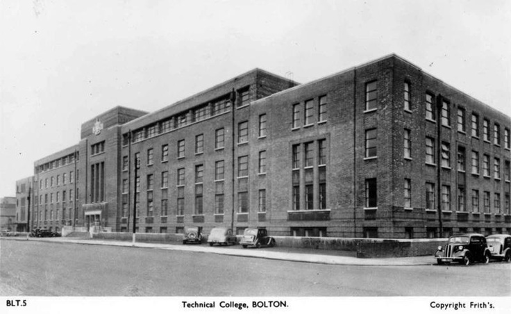Bolton Technical College, 1930 Manchester Road, Bolton. Now demolished
