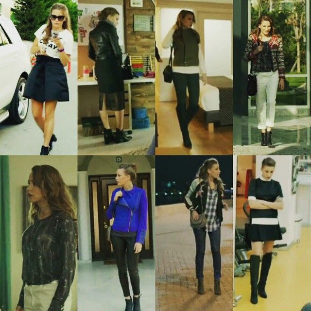 Serenay Sarıkaya Style 3 #SerenaySarıkaya please follow me,thank you i will refollow you later