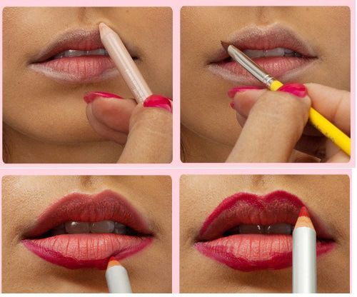 Tips for Perfect Ombre Lips #ombre #lips #lipstick