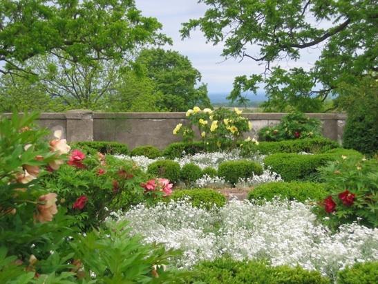 Linwood, too. Near Avon/York, NY. Garden tours, Public