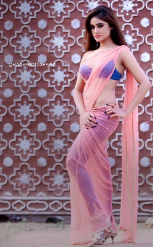 Actress Sony Charista Latest Photoshoot Gallery in Saree CelebsNext 0013