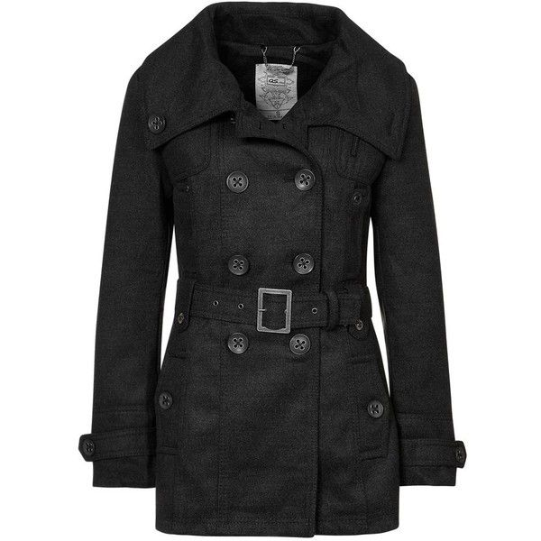 QS by s.Oliver Classic coat found on Polyvore