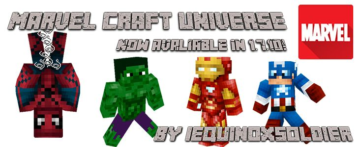 Marvel Universe Mod para Minecraft 1.7.10 | Grill Gamer | Download Direto
