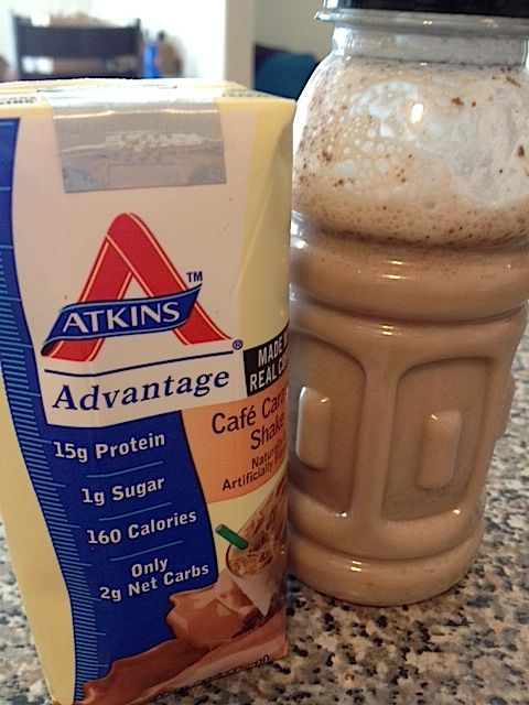 Low Carb Shake: Less calories than Atkins and less than half the price.
