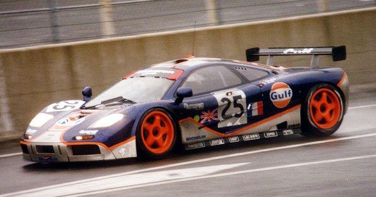 1995 McLaren F1 GTR BMW (6.064 cc.) (A) Lindsay Owen-Jones Pierre-Henri Raphanel Philippe Alliot