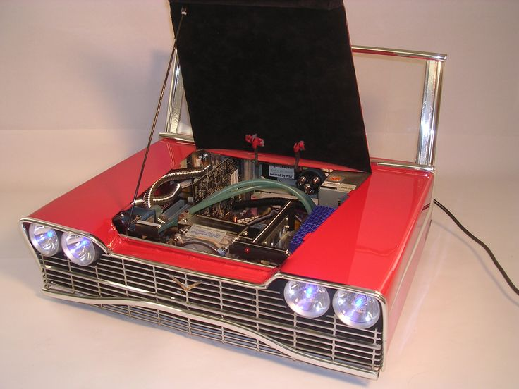 Retro Hotrod PC Case Inspired By The Christine Car From The 1983 Movie