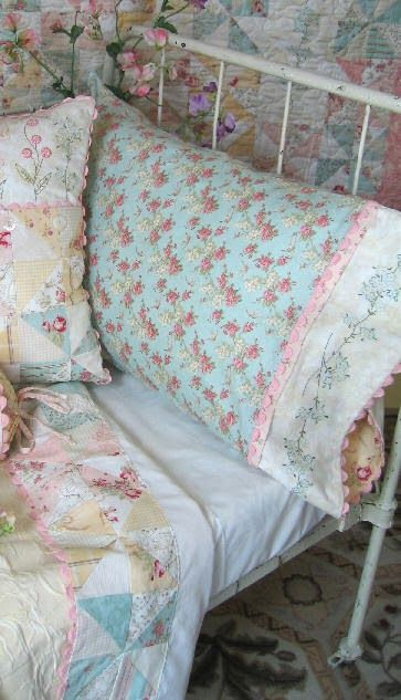 The Shabby: Perfect Pairing | French Cottage Garden and Printemps http://www.shabbyfabrics.blogspot.com/2014/02/perfect-pairing-french-cottage-garden_25.html February 25, 2014