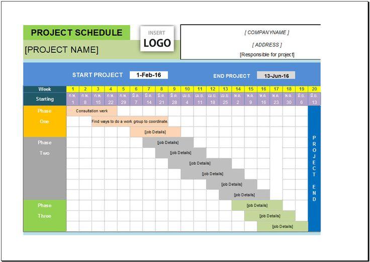 7 Best Gantt Chart Excel Images On Pinterest Gantt Chart Project