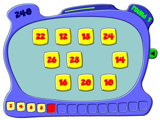 First Grade Math Websites - organized by standards