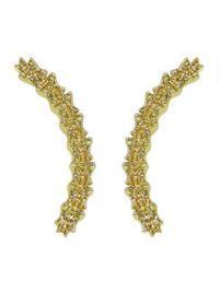 Gold plated Jennifer Fischer earrings - sweet
